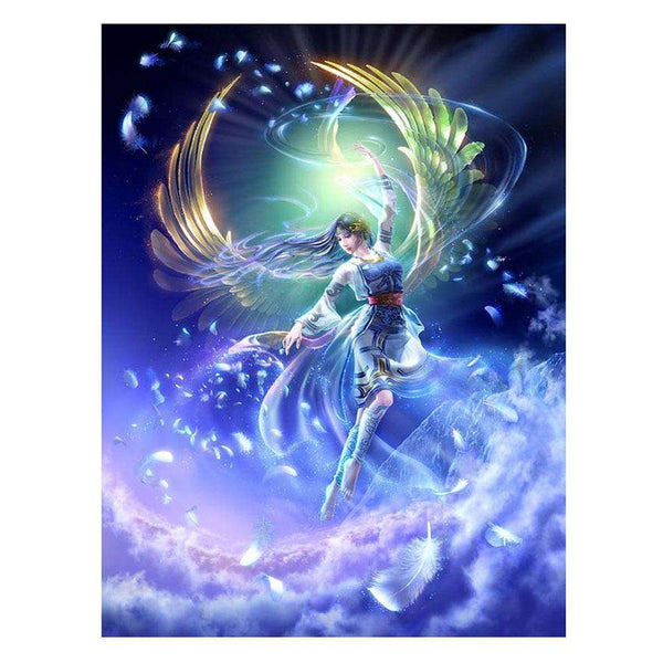 Fantasy Goddess 5D DIY Full Drill Round Drill Diamond Painting