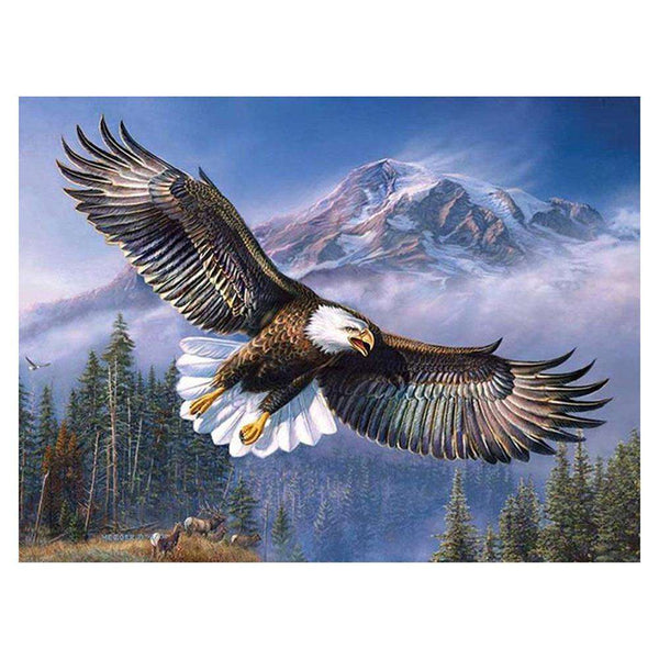 Flying Eagle DIY Full Drill Round Drill Diamond Painting