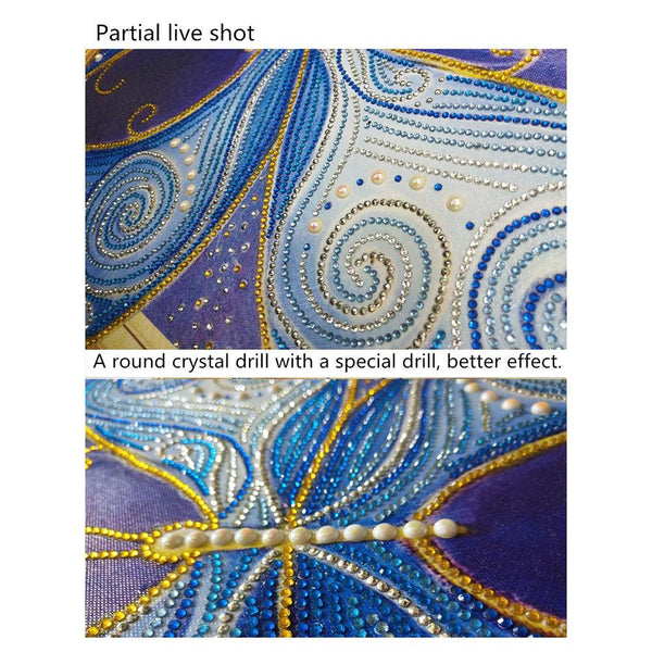 Butterfly 5D DIY Partial Drill Crystal Rhinestones Diamond Painting