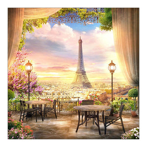 Eiffel Tower DIY Full Drill Diamond Painting