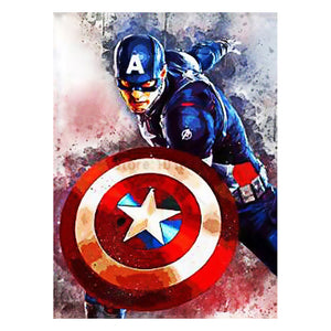5D DIY Full Drill Diamond Painting Captain America