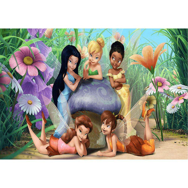 Tinker Bell Disney Fairies DIY Full Drill Round Drill Diamond Painting