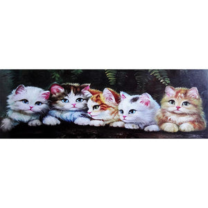 5D DIY Full Drill Diamond Painting Cat Animal