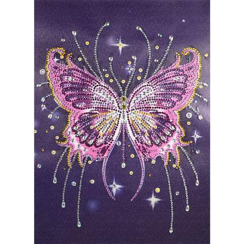 5D DIY Special Shaped Diamond Painting Butterfly Cross Stitch Embroidery