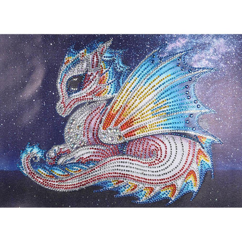 5D DIY Special Shaped Diamond Painting Dragon Cross Stitch Embroidery Kits