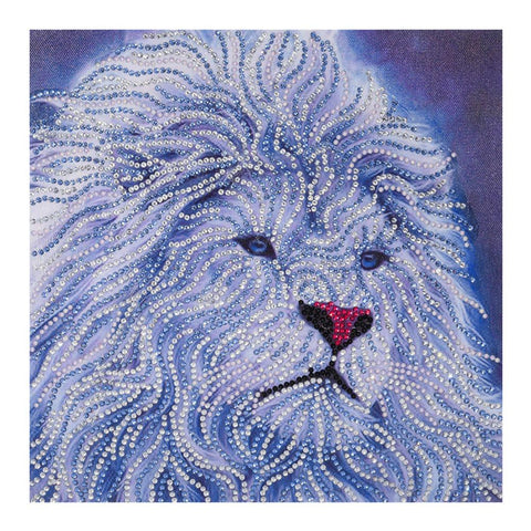 5D DIY Special Shaped Diamond Painting Lion Cross Stitch Embroidery Mosaic
