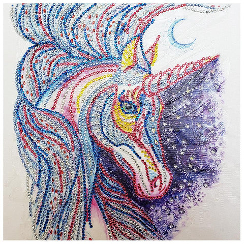 5D DIY Special-shaped Diamond Painting Horse Cross Stitch Embroidery Mosaic