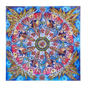 5D DIY Special Shaped Diamond Painting Abstract Cross Stitch Embroidery Kit