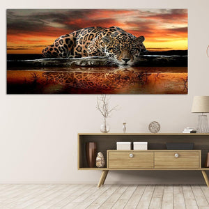 "Tiger 5D DIY Full Drill Diamond Painting(90*45cm/35.43*17.72"")"