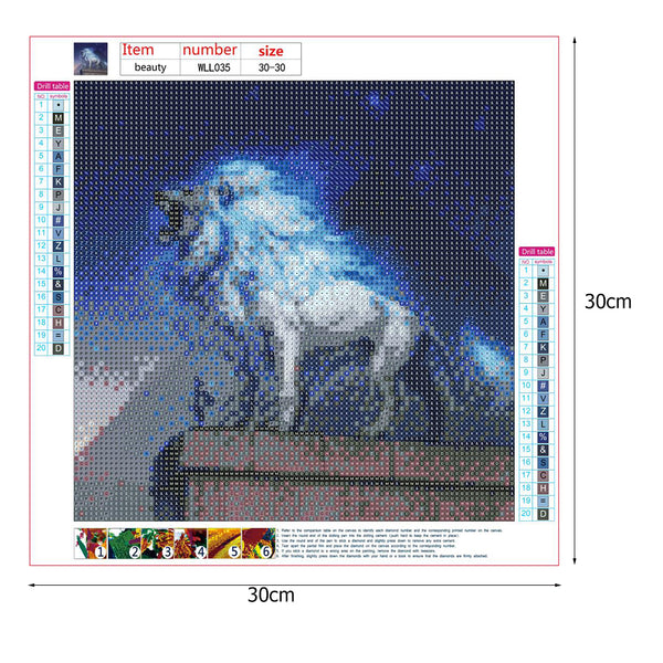 Lion 5D DIY Full Drill Round Drill Diamond Painting
