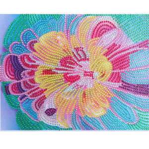 5D DIY Special Shaped Diamond Painting Flowers Cross Stitch Embroidery Kits