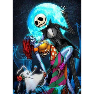Jack Skellington 5D DIY Full Drill Round Drill Diamond Painting