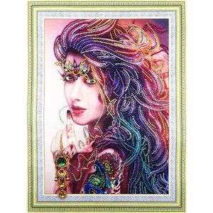 5D DIY Special-shaped Diamond Painting Cross Stitch Embroidery Craft Kit