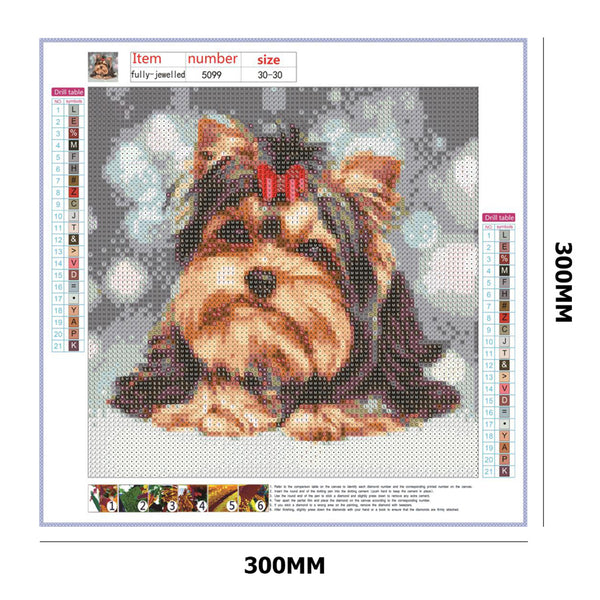 Dog DIY Full Drill Round Drill Diamond Painting