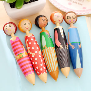 1pc Fashion Doll Shape Point Drill Pen DIY Diamond Painting Drawing Tool