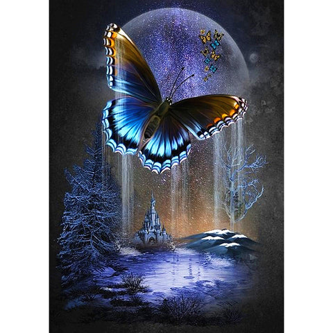 Butterfly DIY Full Drill Square Drill Diamond Painting
