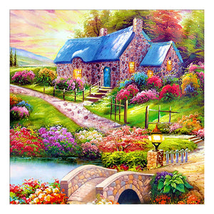 Country Landscape DIY Full Drill Square Drill Diamond Painting