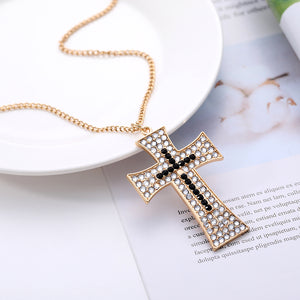 DIY Full Drill Diamond Painting Keychain Cross Necklace Bag Hanging Pendant
