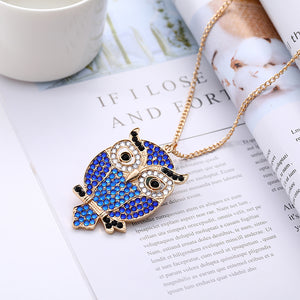 DIY Full Drill Diamond Painting Keychain Bird Necklace Bag Pendants Gift