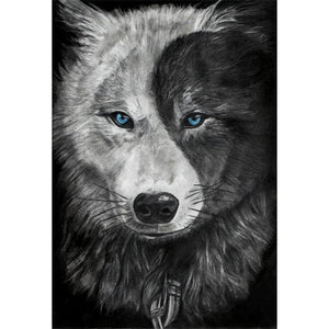 Wolf 5D DIY Full Drill Round Drill Diamond Painting