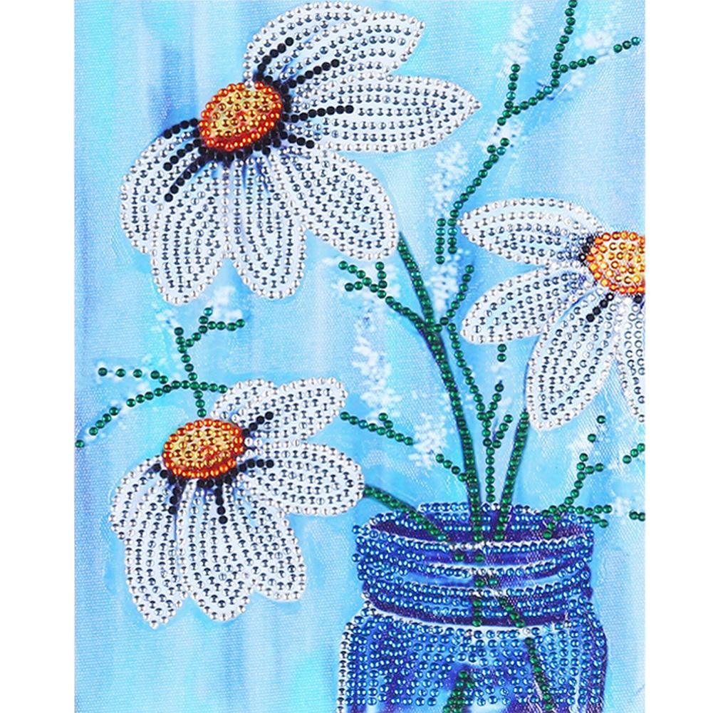 5D DIY Crystal Rhinestones Partial Drill Diamond Painting Vase Kit