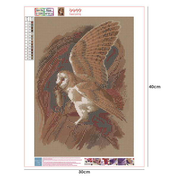Eagle and Mouse DIY Full Drill Round Drill Diamond Painting