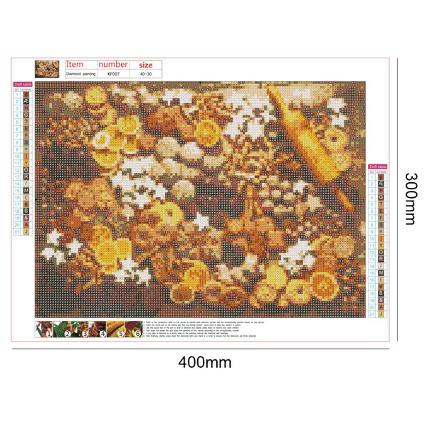 Biscuits 5D DIY Full Drill Square Drill Diamond Painting