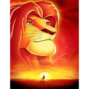 The Lion King 5D DIY Full Drill Round Drill Diamond Painting
