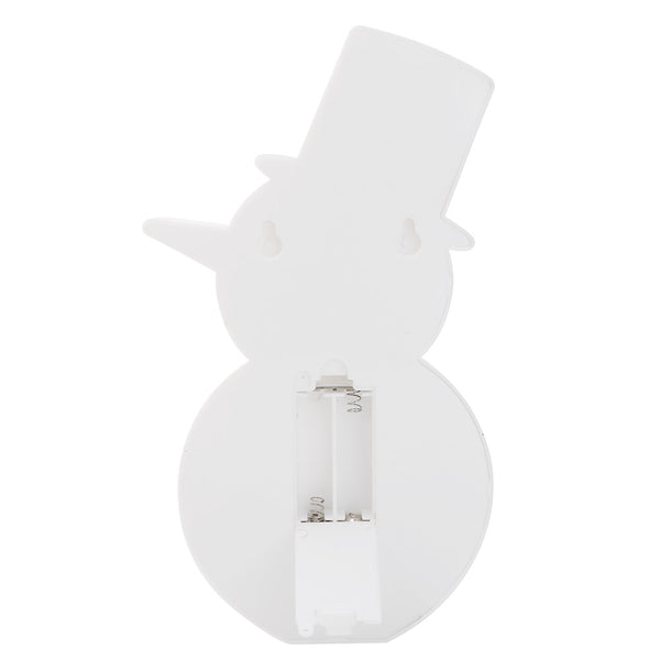 Snowman Light DIY Special Shaped Diamond Painting Christmas Snowman LED Night Light Decor