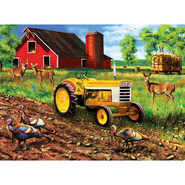 Farm Animal 5D DIY Full Drill Square Drill Diamond Painting