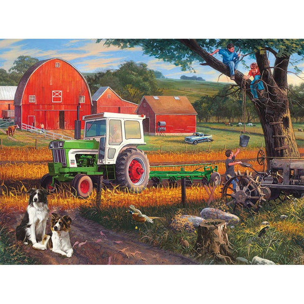 Farm Tractor 5D DIY Full Drill Square Drill Diamond Painting