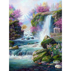 Waterfall DIY Full Drill Diamond Painting