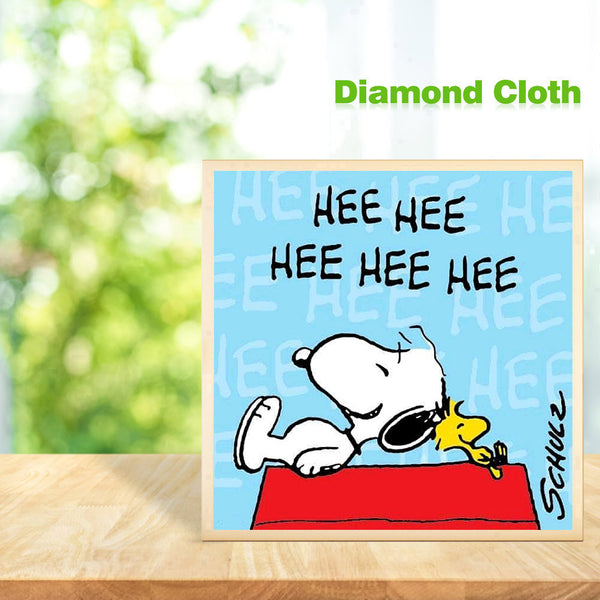 Snoopy Character 5D DIY Full Round Drill Diamond Painting