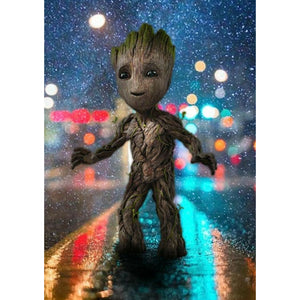 Groot DIY Full Drill Round Drill Diamond Painting