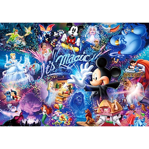 Mickey Mouse 5D DIY Full Drill Round Drill Diamond Painting
