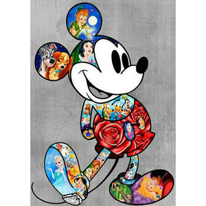 Mickey Mouse DIY Full Drill Round Drill Diamond Painting