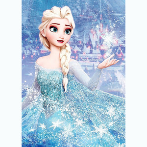 Elsa DIY Full Drill Round Drill Diamond Painting