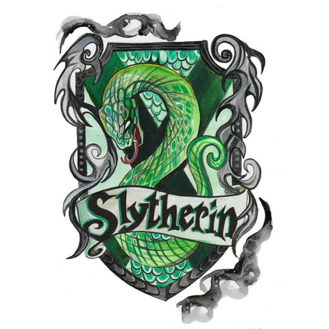 Harry Potter Slytherin DIY Full Drill Round Drill Diamond Painting