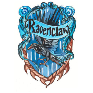 Harry Potter Ravenclaw 5D DIY Full Drill Round Drill Diamond Painting