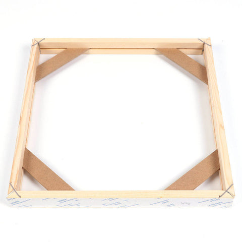 DIY Solid Wood Diamond Paintings Canvas Picture Frame Kit