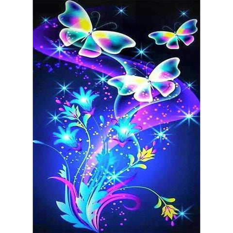Butterfly DIY Full Drill Round Drill Diamond Painting
