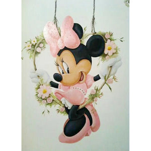 Minne Mouse DIY Full Drill Round Drill Diamond Painting