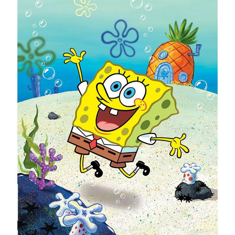Spongebob DIY Full Drill Round Drill Diamond Painting