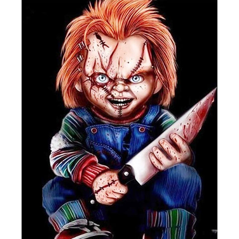 Chucky DIY Full Drill Round Drill Diamond Painting