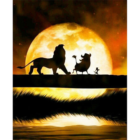 The Lion King DIY Full Drill Round Drill Diamond Painting