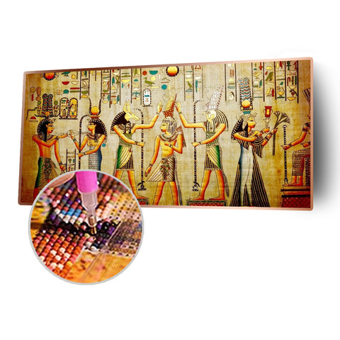 Egypt Life 5D DIY Full Round Drill Diamond Painting