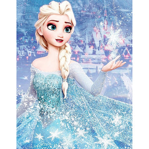 Elsa DIY Full Drill Square Drill Diamond Painting(40x50cm)