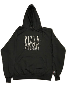 PIZZA BY ANY MEANS X CHAMPION HOODIE