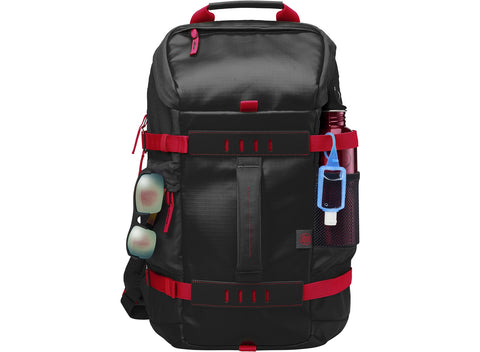 Mochila HP Odyssey Backpack 15.6'' Black & RED