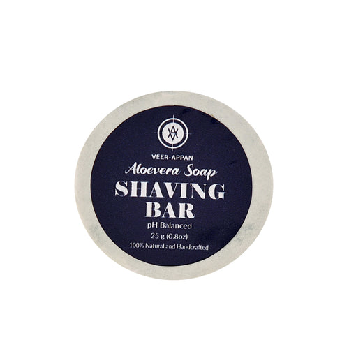 Veer-Appan Shaving Bar (Mini) 25 g (Pack of 3)